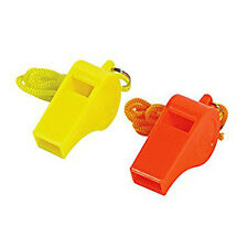 20 plastic and cord emergency rapid whistle