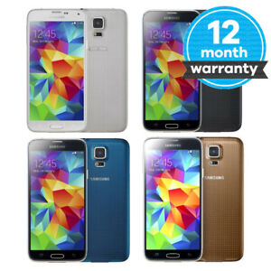 Samsung-Galaxy-S5-SM-G900F-Smartphone-16GB-Unlocked-SIM-Free-Various-Colours