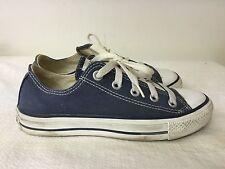 e7b2c02356813e CHUCK TAYLOR CONVERSE ALL STAR denim Blue Low Top Shoes Men 4 Women 6  Classic