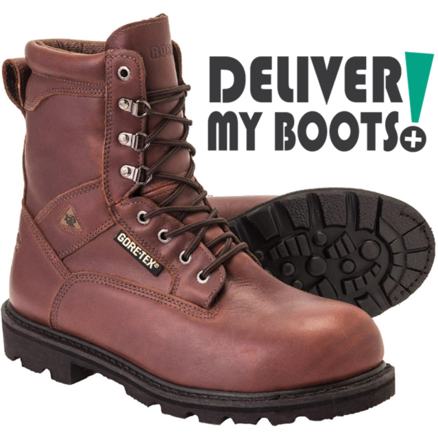 d6b0fae6d55 *NEW* Men's Rocky Boots 6224 Ranger - Waterproof GORE-TEX Steel Toe Work  Boots
