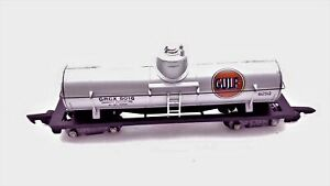 American-Flyer-No-625G-Silver-Painted-GULF-Tanker-Car