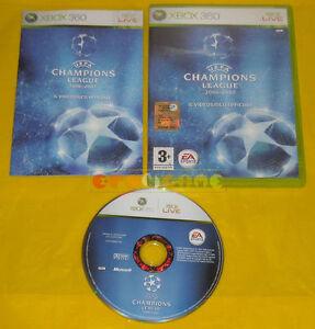 UEFA-CHAMPIONS-LEAGUE-2006-2007-XBOX-360-Vers-Italiana-1-Edizione-COMPLETO