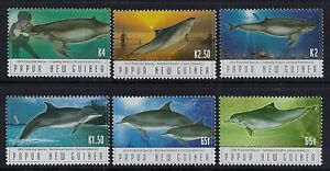 2003 papua new guinea endangered species dolphins set of 6 fine image is loading 2003 papua new guinea endangered species dolphins set sciox Images