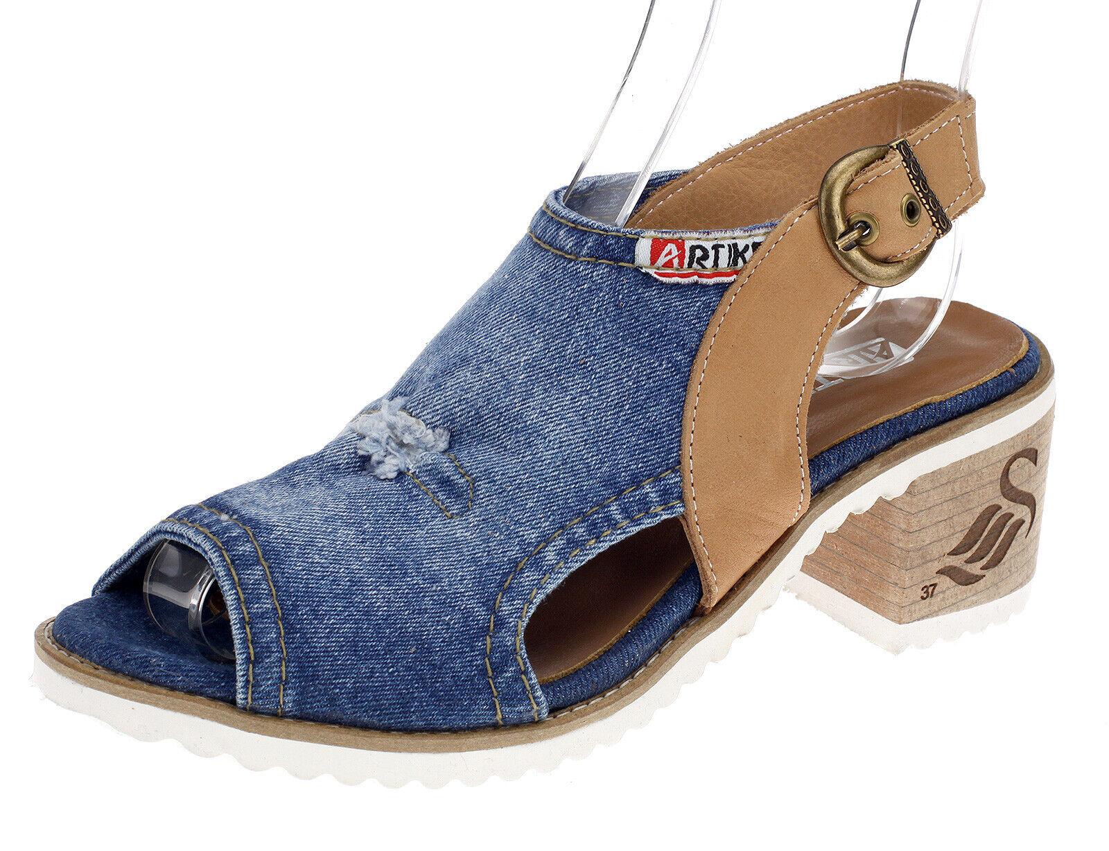 Artiker femmes Sandales Sandales Jeans chaussures d'été loisirs chaussures femmes c131