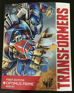 Transformers-First-Edition-Optimus-Prime-Robot-Car-Truck-Ages-8-Toy-Hasbro-Race