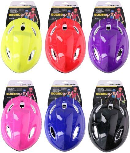 Dunlop Kids Childrens Boys Girls Safety Helmet Bike Bicycle Skate Board Scooter