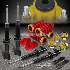 DNA SHOCK ABSORBER STRUT+SCALED COILOVER+GOLD EXTEND TOP HAT FOR CIVIC/DC DB EG