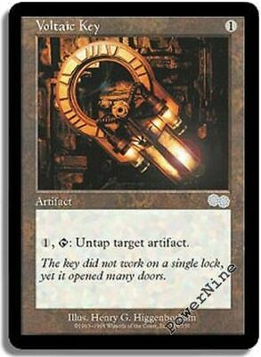 1 Voltaic Key Artifact Urza/'s Saga Mtg Magic Uncommon 1x x1
