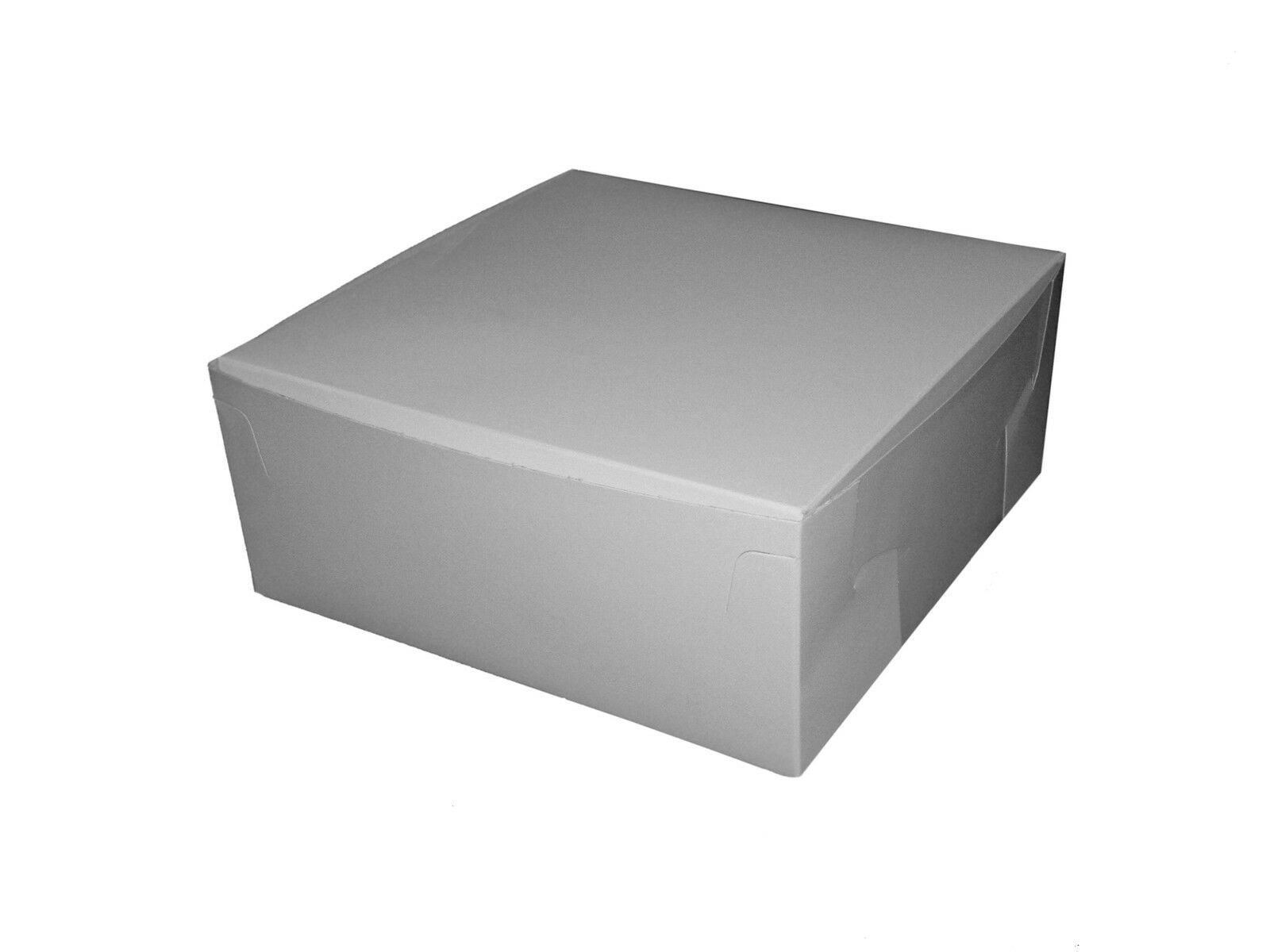 100 Bianco Fata Torta   dolce dolce dolce   Muffin Scatole 9X9X4  Bakery   PARTY cada4b
