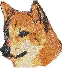 Embroidered Fleece Jacket - Shiba Inu Aed14430 Sizes S - Xxl