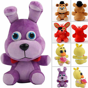 Details about fnaf five nights at freddy s plush plushie dolls stuffed