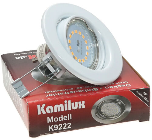 Flat Recessed Ceiling Spotlights Lia 230V 5Watt LED Module Dimmable 400Lm