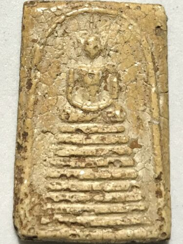 Details about  /PHRA SOMDEJ LP RARE OLD THAI BUDDHA AMULET PENDANT MAGIC ANCIENT IDOL#524