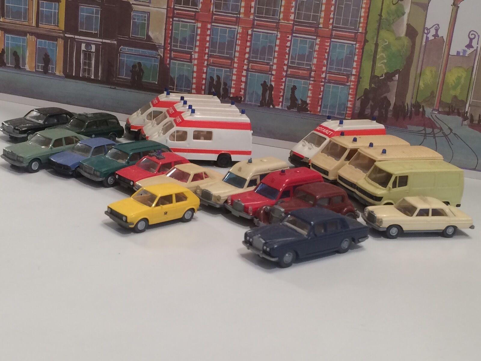 Maquetas de coches Wiking pralina Herpa