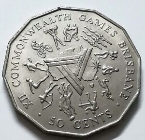 1982-Australia-XII-Commonwealth-Games-Brisbane-50-Cents-Coin-G