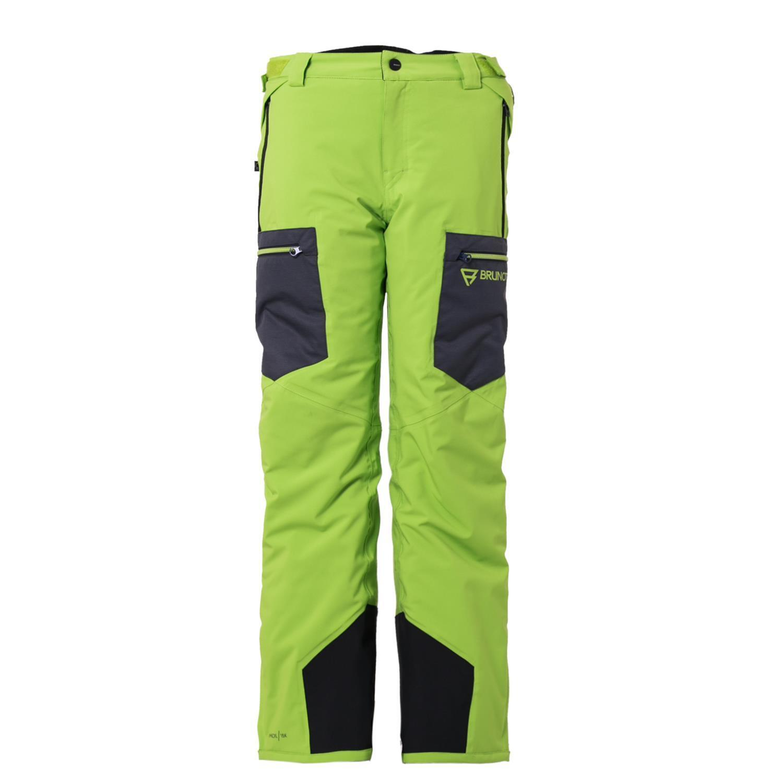 Brunotti Ski Trousers Snowboard Trousers Harvest Jr Boys Snowpants Green