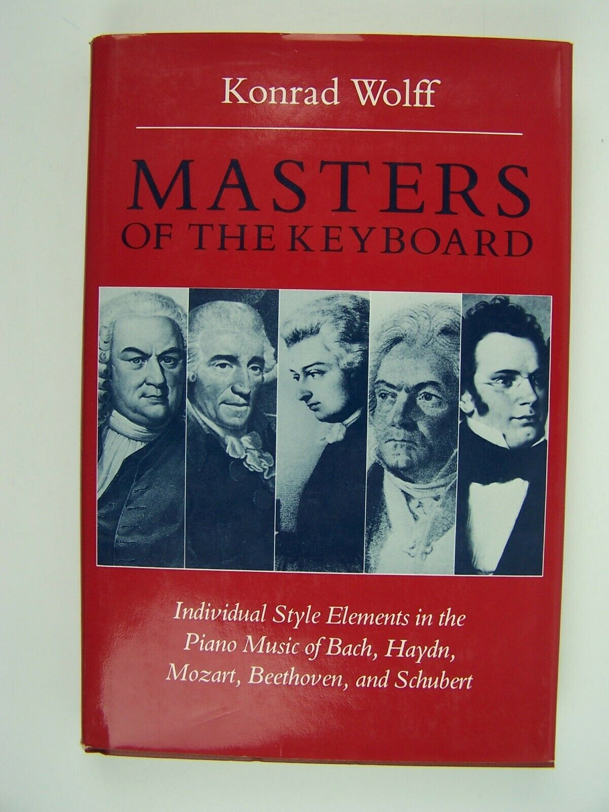 Masters Of The Keyboard Wolff Hardcover 1983