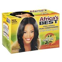 Africa's Best Dual Conditioning Relaxer System, Regular, No-lye 1 Ea (pack Of 9) on sale