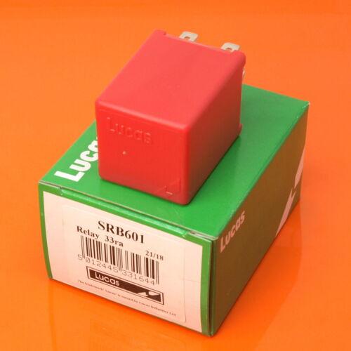Relé de Lucas SRB601 24V 33RA 40 Amp 4 Pin relé de carga dividida 33420 33419