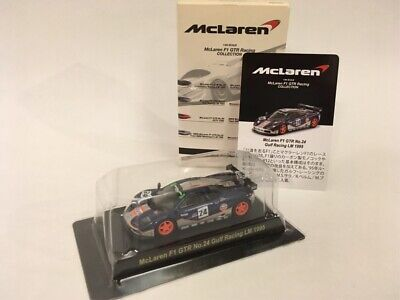 Kyosho 1//64 Mclaren F1 GTR collection No.24 Gulf Racing LM 1995 Trac.number free