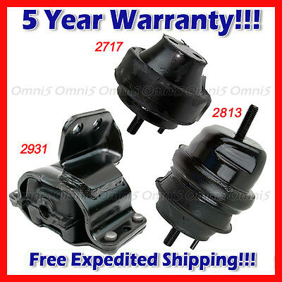 for 1999-2003 Ford Windstar 3.8L Engine Motor /& Transmission Mount Set 3PCS
