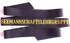 BW Marine Uniform - Mützenband Seemannschaftslehrgruppe German Cap tally ribbon