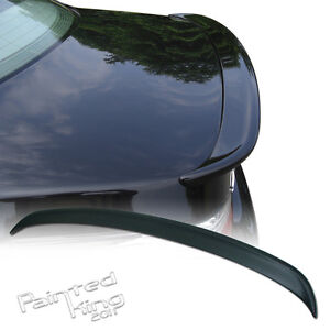 bmw e60 5 series a type trunk spoiler rear wing 04 10 528i. Black Bedroom Furniture Sets. Home Design Ideas