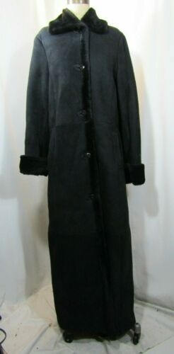 BROOKS BROTHERS Full Length Shearling Coat Size Me