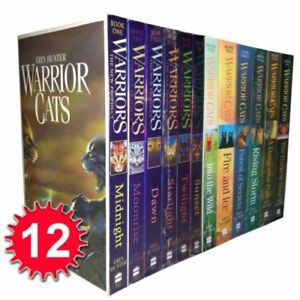 Warrior-Cats-Collection-Erin-Hunter-12-Books-Set-The-New-Prophecy-The-Warriors