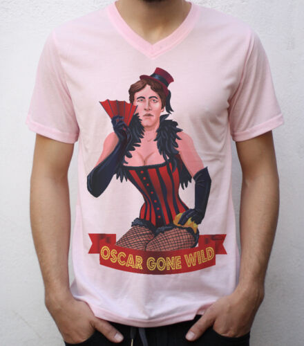 Oscar Gone Wilde T shirt Artwork