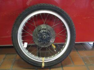 Vorderrad-Reifen-Felge-Bremsscheiben-Honda-CB-250-RS