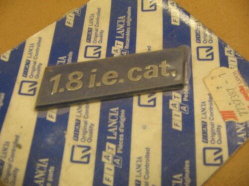 FIAT 1.8 i.e CAT scritta modello logo stemma emblema targhetta laterale NOS