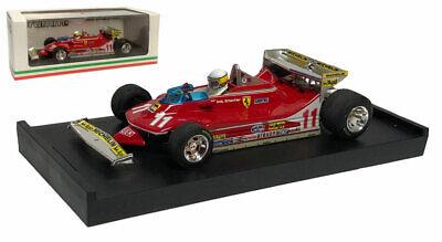 1979 with figure of driver Ferrari 312 T4 Model Car GP Monaco GP Monaco No.12 Ready-made Brumm 1:43