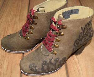 süß Kundschaft zuerst Wählen Sie für authentisch Details zu Spieth Wensky D Ignatia Nubuk Trachtenstiefel Damen Echt Leder  Schuhe Stiefel