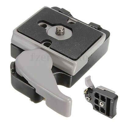 323 Quick Release Clamp Adapter with 200PL-14 QR for Manfrotto Camera Tripod