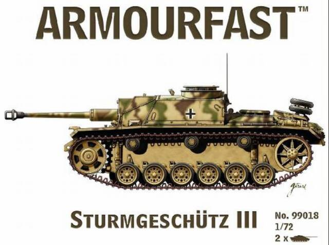 Armourfast 1//72 Stug III #99018