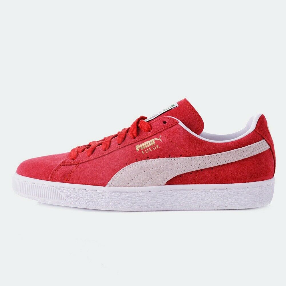 Puma SHOES - SUEDE CLASSIC ECO - CASUAL SNEAKERS - UNISEX - RED [352634-05]