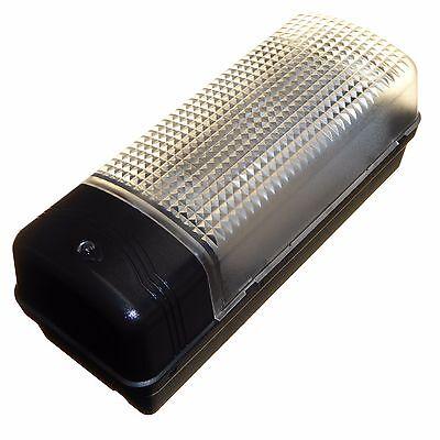 Goedkope Verkoop Outdoor Dusk To Dawn Bulkhead Light + Photocell Sensor Weatherproof Ip44 New Firm In Structuur