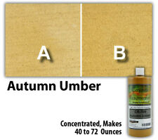 Professional Easy To Apply Water Based Concrete Stain Autumn Umber 8oz Bottle