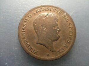 Italia Dos Sicilias Napoles Ferdinando Ii Infante De EspaÑa 5 Tornesi 1848?