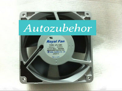 For Royal Fan UTL125C Aluminum frame cooling fan 200VAC 15//14W 120*120*38MM