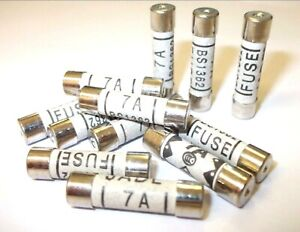 Household fuses Domestic Fuses BS1362 Mains *Top Quality! 3 Amp Pack of 12