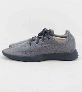 Wool Runners Natural Grey Blue