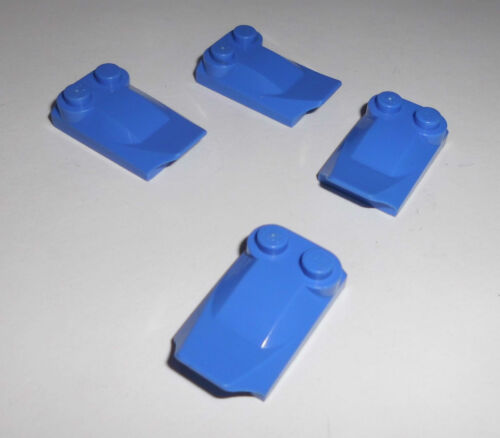 47456 in blau-violett aus 8790 8809 8796 4 Flossen/Motorhauben 2x3x2/3 Lego
