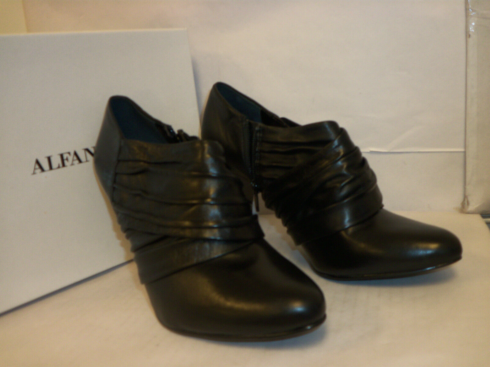 Alfani New Womens Carla Black 10 M Heels Boots Shoes