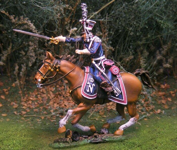 Die Sammler Schaufenster Napoleonisch Französische CS00687 Polierung Lancer