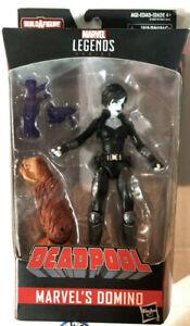 "- Domino Sasquatch Deadpool 6/"" Action Figure Marvel Legends BAF Series"