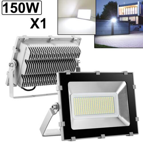 150W LED Flood Light VIUGREUM Cool White Outdoor Spotlight Garden Yard Lamp