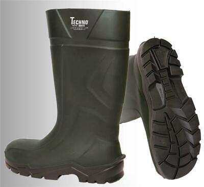 Techno Rubber Wellington Boots Dark