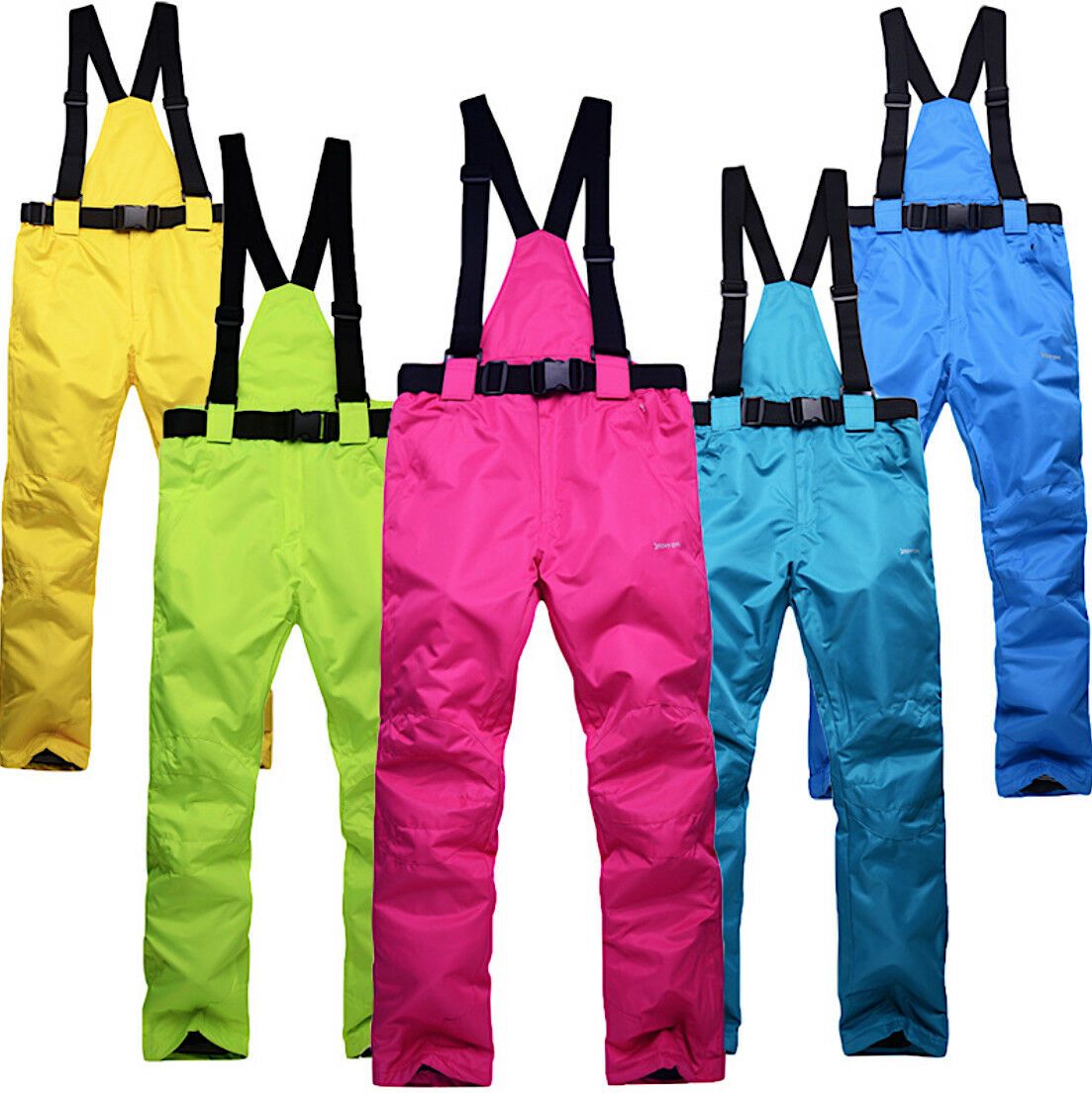 Pantaloni Neve Sci Windproof Waterproof Uomo Donna Ski Pants Unisex PASNW01 P